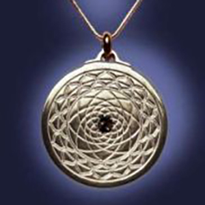 EforcePlus Exquisite Mandala Pendant-Titanium