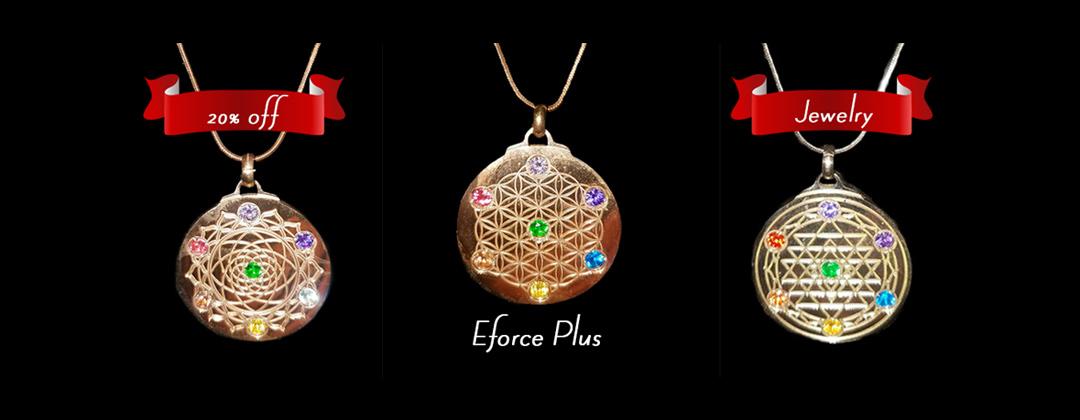 Eforce Plus Sacred Geometry Jewlrey Sale