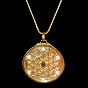 Gold Flower of Life EforcePlus Var 1