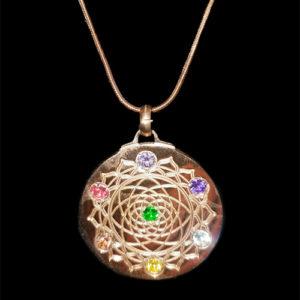 Rose Gold Chakra Mandala EforcePlus